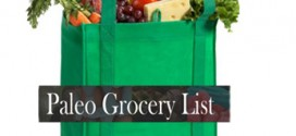 paleo diet grocery list