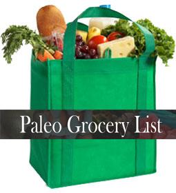 paleo shopping guide